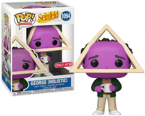 POP! TV: Seinfeld - Holistic George with Purple Face (Target Exclusive)