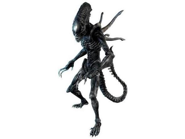 Hot Toys 1/6 Alien Vs. Predator Requiem Alien with Facehugger