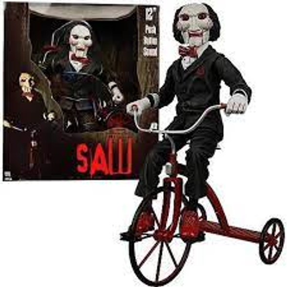 NECA Saw Action Figure Saw with Tricycle **DISPLAYED**