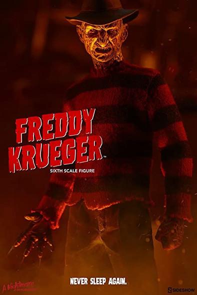 Sideshow 1/6 Nightmare on Elmstreet 3 Freddy Exclusive