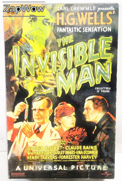 Sideshow The Invisible Man