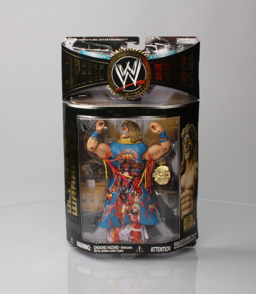 WWE Classic Super Stars Ultimate Warrior (reverse torso)