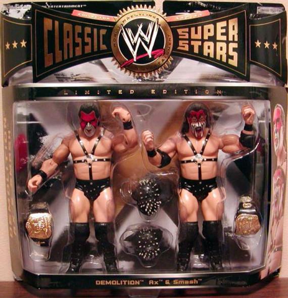 WWE Classic Superstars Demolition Ax & Smash *BOX DAMAGE*