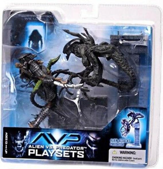 AVP Playset Alien Attacks Predator