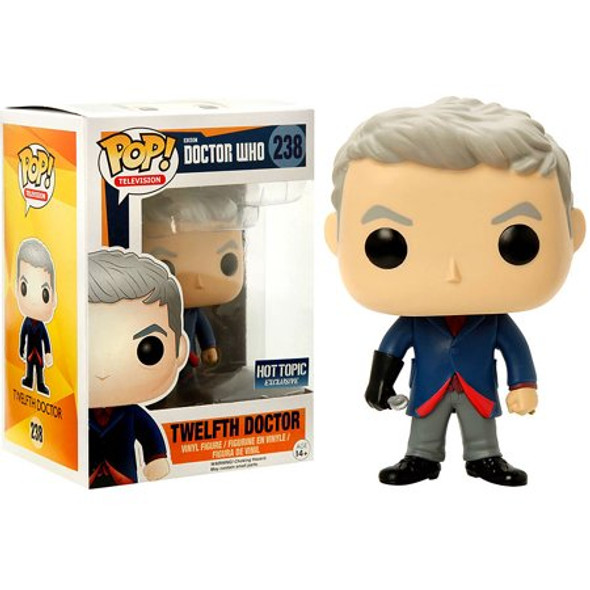 POP TV: Doctor Who Twelfth Doctor With Spoon Hot Topic Exclusive #238