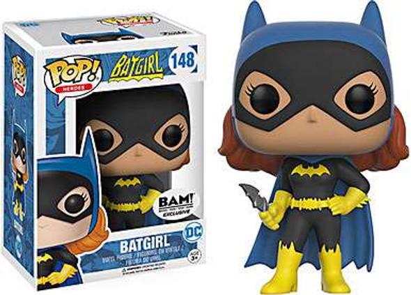 Funko DC Comics Dark Knight Batgirl Silver Age BAM
