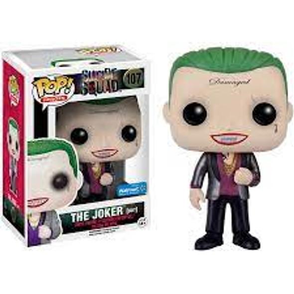 POP Movies: Suicide Squad The Joker (Suit) Exclusive #107