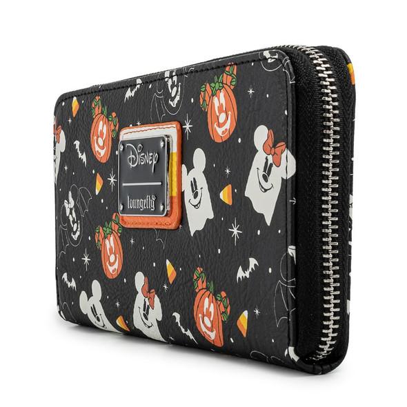 Loungefly Disney Spooky Mice Candy Corn Zip Around Wallet