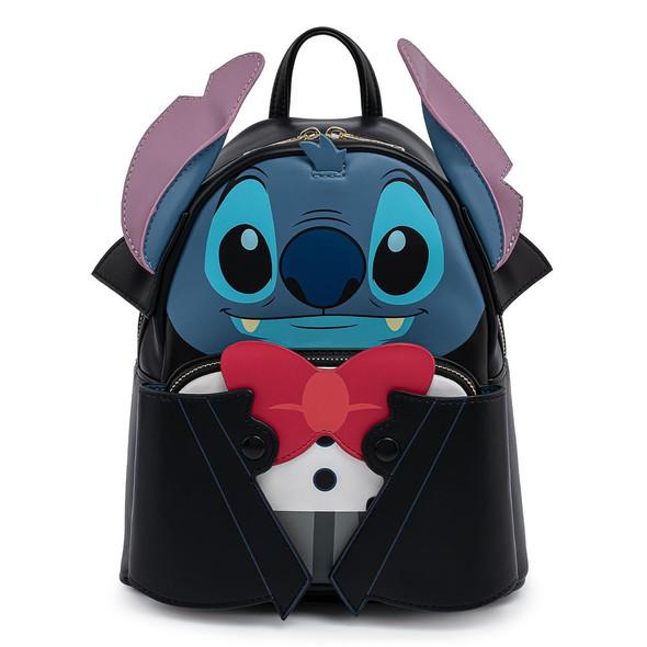 Loungefly Disney Vampire Stitch Bow Tie Mini