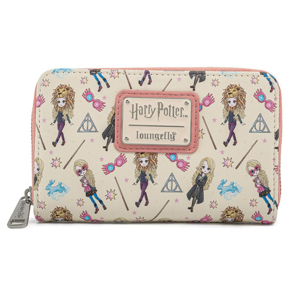 Loungefly Harry Potter Luna Lovegood Aop Zip Around Wallet