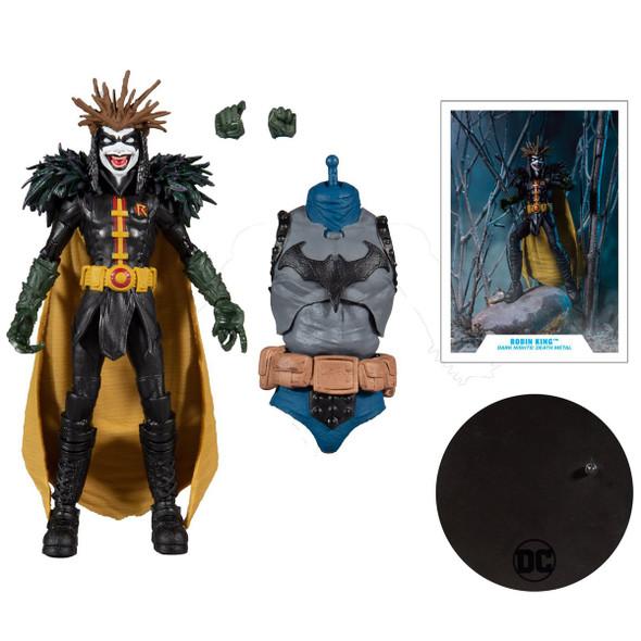 DC Build-A Wave 4 Dark Nights Death Metal Robin King Action Figure