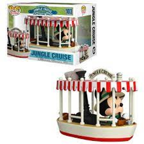 Pop! Rides: Jungle Cruise - Skipper Mickey with Boat