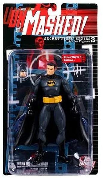 Bruce Wayne Batman Secret Files Unmasked Series 2 Action Figure