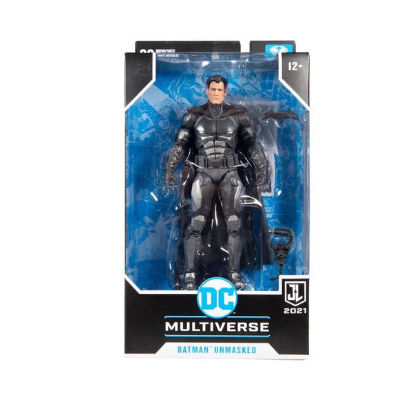McFarlane DC Zack Snyder's Justice League Unmasked Batman Bruce Wayne