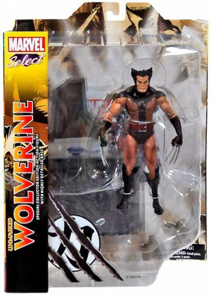 Marvel Select: Wolverine Action Figure (Brown)
