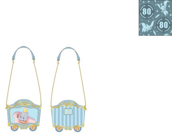 Loungefly Disney Dumbo Train Car Crossbody Bag