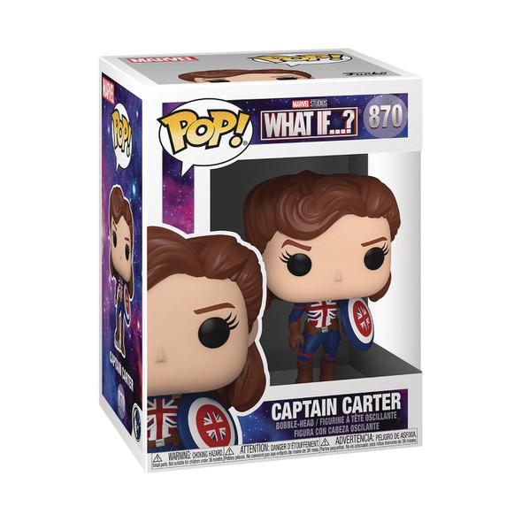 Pop! Marvel: What If? - Captain Carter