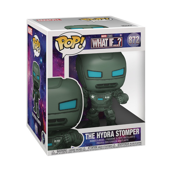"""Pop! Super Marvel: What If? - 6"""" The Hydra Stomper"""