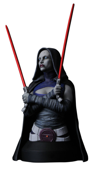 Star Wars: The Clone Wars: Asajj Ventress 1:6 Bust