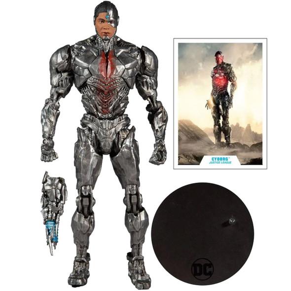 DC Multiverse Justic League Snyder Cyborg