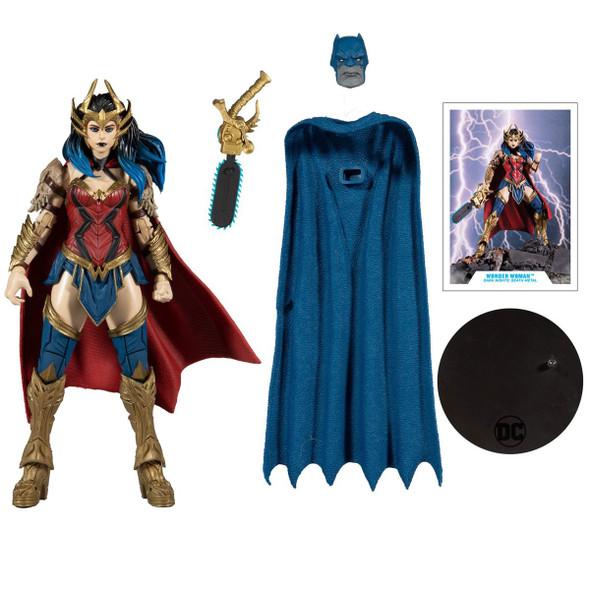 Dark Nights Death Metal Wonder Woman Figure