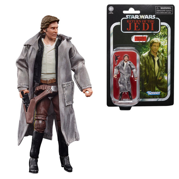 Star Wars The Vintage Collection Han Solo (Endor) 3 3/4-Inch