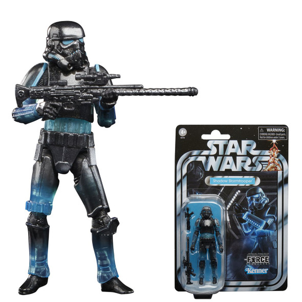 Star Wars The Vintage Collection Gaming Greats Shadow Stormtrooper 3 3/4-Inch