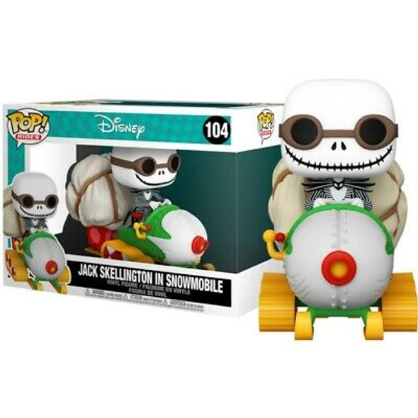 889698491464Pop! Ride Super Deluxe: Nightmare Before Christmas - Jack and Snowmobile