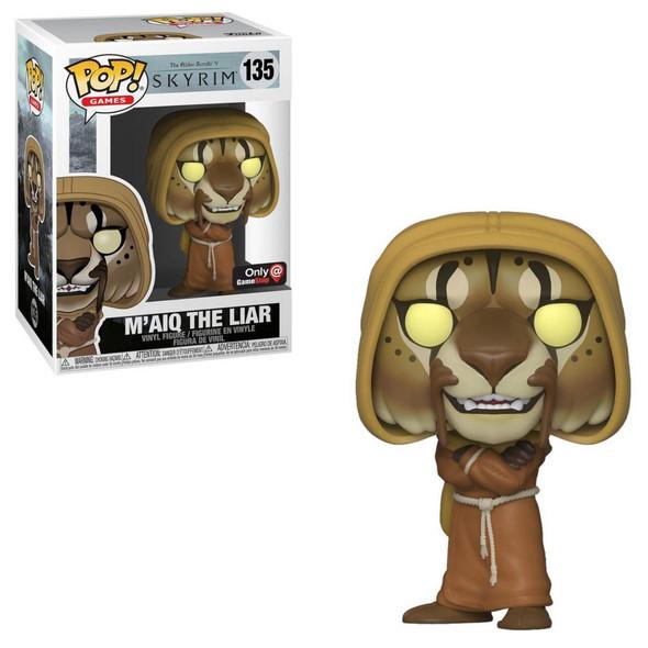 Pop! The Elder Scrolls V Skyrim M'aiq The Liar Exclusive