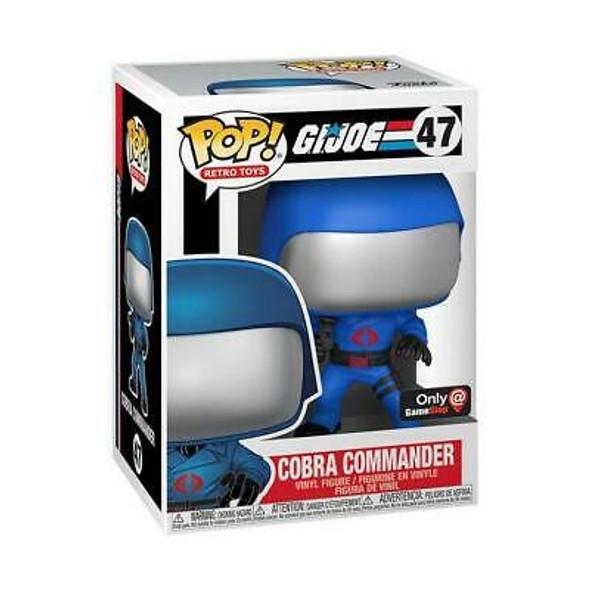 POP! Retro Toys #47: G.I. Joe Cobra Commander