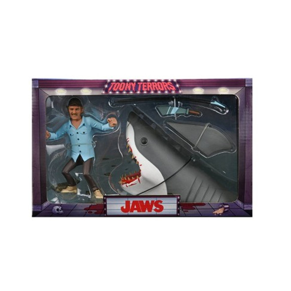 TOONY Terrors JAWS & Quint 6IN Action Figure 2 Pack