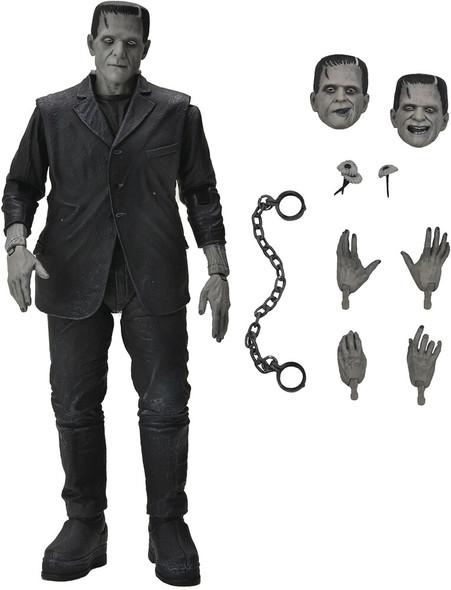 Universal Monsters NECA Frankenstein Action Figure [Ultimate Version, Black & White]