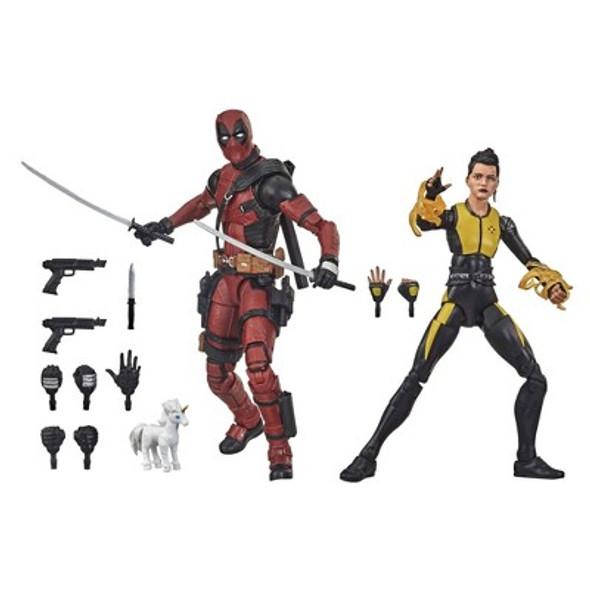 Marvel Legends Deadpool and Negasonic Teenage Warhead
