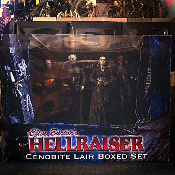 Neca Clive Barker Hellraiser Cenobite Lair Boxed Set Spencers Exclusive