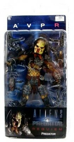 NECA Alien VS. Predator: Requiem Unmasked Predator