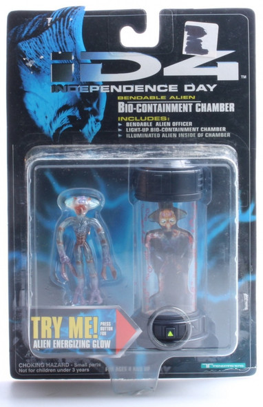 Independence Day ID-4 Bendable Alien Bio-Containment Chamber