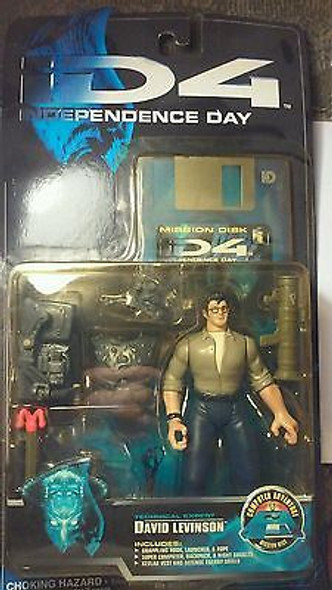 Independence Day ID-4 David Levinson **Discolored Plastic**
