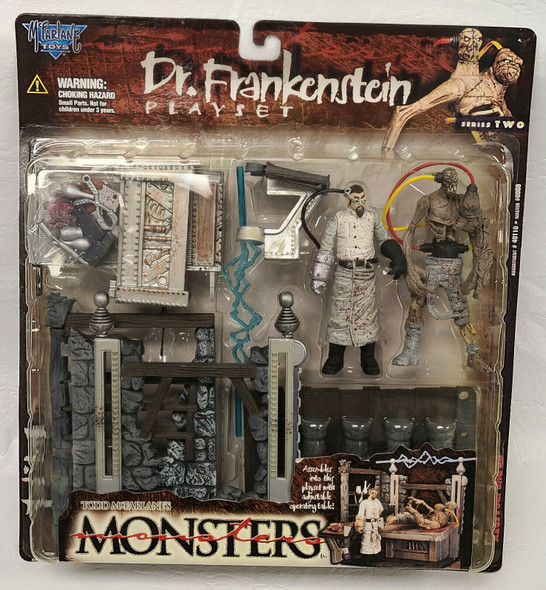McFarlanes Monsters Series 2 Dr. Frankenstein Action Figure Playset