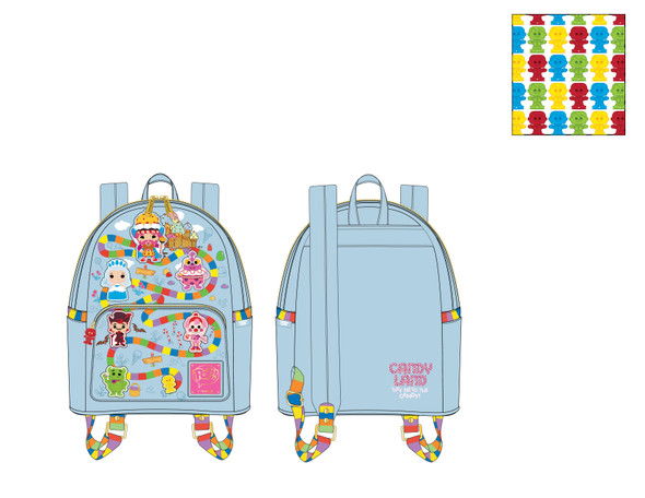 Pop By Loungefly Hasbro Candy Land Take Me To The Candy Mini Backpack