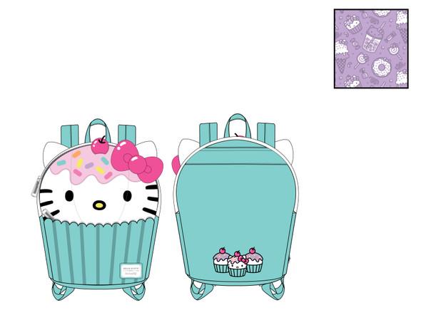 Loungefly Sanrio Hello Kitty Cupcake Mini Backpack