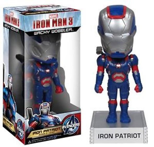 Iron Man 3 Iron Patriot Bobble