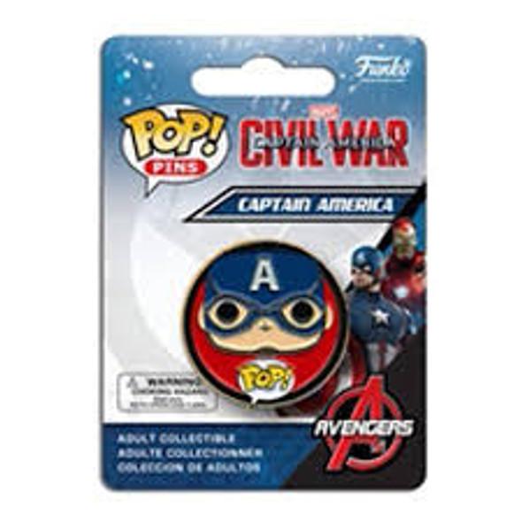 civil war pop pins captain america