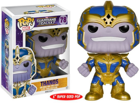 guardians of the galaxy pop thanos