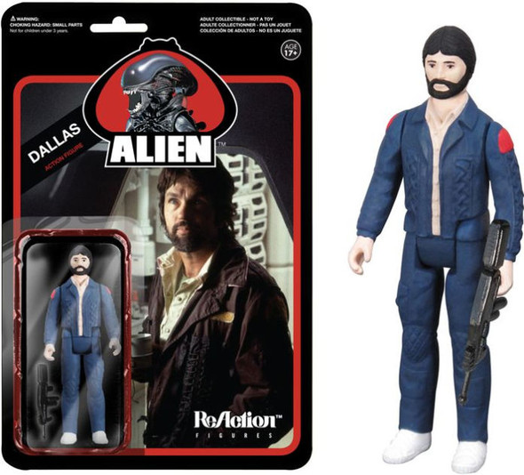 Reaction Alien Dallas Figure