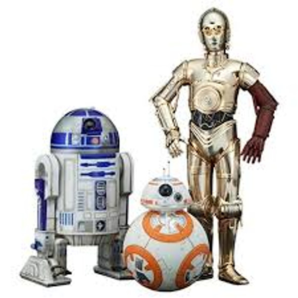 Koto Star Wars R2-D2 & C3PO With BB-8