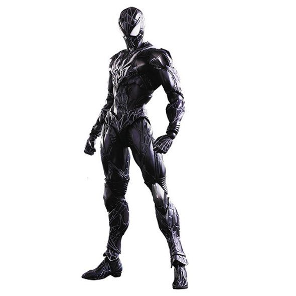 Play Arts Kai Spider-Man Black Costume