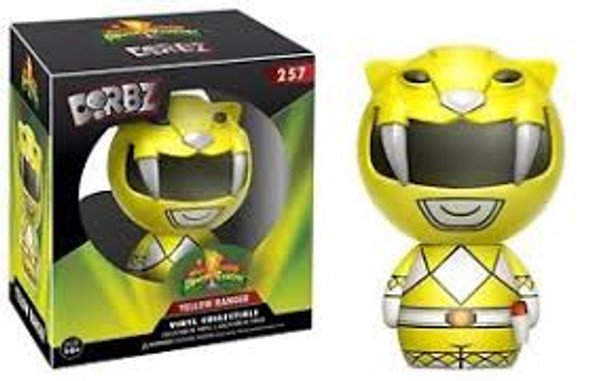 power rangers dorbz yellow ranger