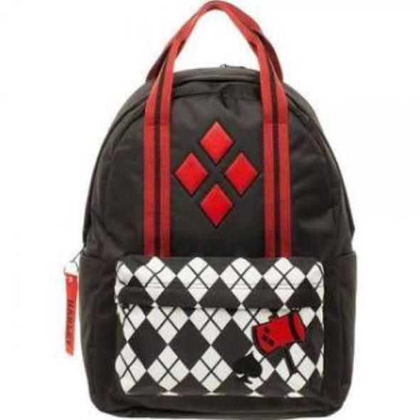 backpack top handle harley quinn