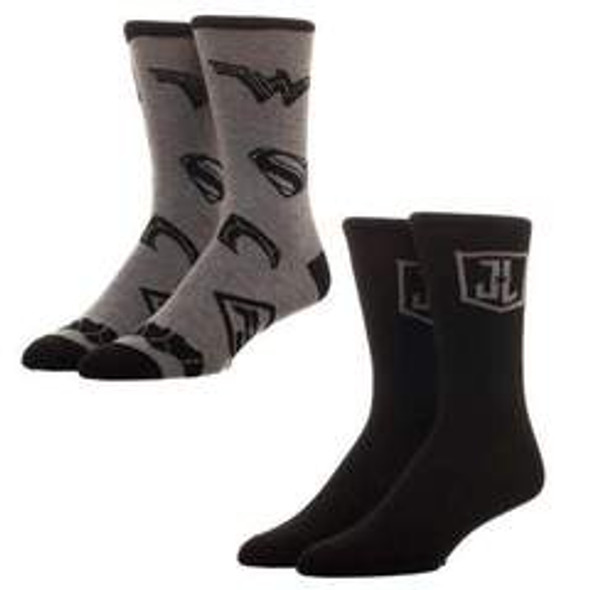 2pk Justice League Crew Sock