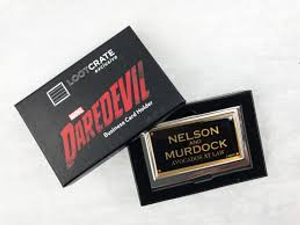 Daredevil Luke crate business card holder